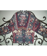 Painted Pony Vintage Tapestry Jacket Made in Texas  - $35.00