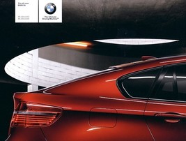 2008 BMW X6 sales brochure catalog US 08 xDrive 35i 50i - $10.00