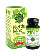 Zinc Citrate + Nettle Root Strong Immune Support Weight Loss Bones Skin ... - $55.43