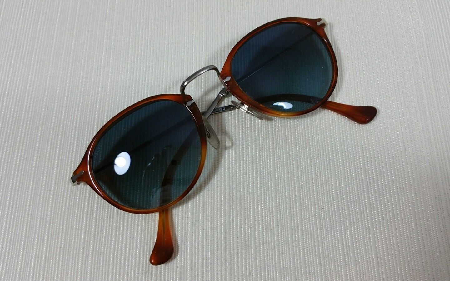 5f3c864eb3 Persol 3075-S Folding Brown Frame Polarized and 34 similar items