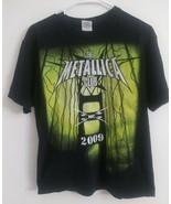 Metallica The Metallica Club 2009 MC Fan Club Official T-Shirt SZ M meta... - $19.79