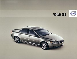 2008 Volvo S80 sales brochure catalog 08 US 3.2 T6 V8 - $10.00