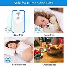 Ultrasonic Pest Reject electromagnetic Repeller Anti Mosquito Bugs Insec... - $63.86