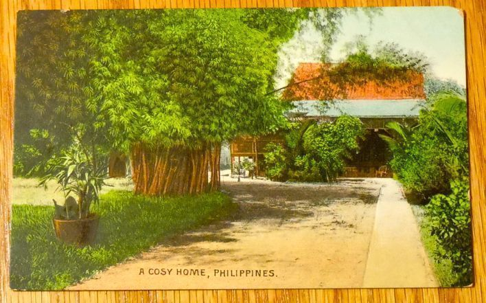 Primary image for c1950s - A Cozy Home in the Philippines - Unused Postcard