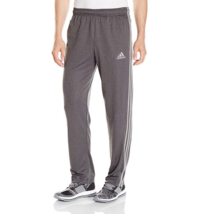 Adidas Men's Training Climacore 3 Stripe Pants, Conavy/Grey, Medium - $24.74