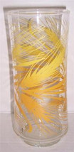 Vintage (1) Libbey Wheat Harvest Design Collectible Glass Tumbler 10 oz - $10.99