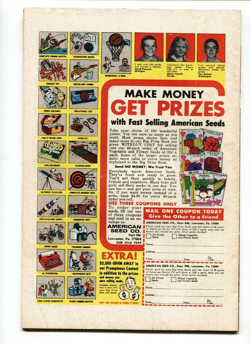 PETEY-PETER THE LITTLE PEST-#4 Marvel comic book  1970 image 2