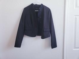 Banana Republic women cotton 90 polyester 10 striped  jaket blazer sz 8 - $14.96