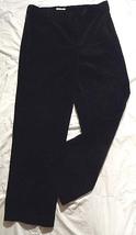 Beautiful Jones of New York STRETCH Black VELVET COUNTRY Dress Trousers ... - $62.88