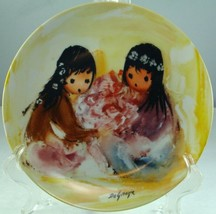 Ted DeGrazia Spring Blossoms Bradford Exchange Porcelain Collector Plate - $36.62