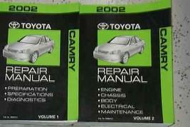 2002 Toyota Camry Service Shop Repair Workshop Manual Set Factory Oem - $188.09