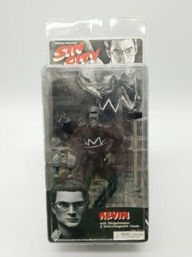 "Primary image for Sin City Kevin Series 2 NECA Black & White Action Figure 6"" New Old Stock 2005"