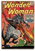Wonder Woman #143 Comic Book 1964-DC COMICS-MONSTER Cover vg- - $47.92