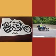Selfie Vinyl Decals from Photo, Custom Made, Unique, Celebration, Memorial, Acti image 5