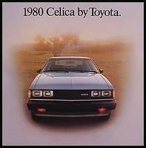 1980 Toyota Celica Original Color Brochure, NOS MINT - $9.96