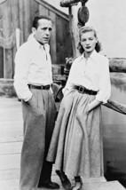 Lauren Bacall Humphrey Bogart by boat in Key Largo 18x24 Poster - $23.99