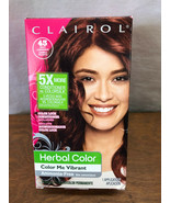 CLAIROL HERBAL COLOR - COLOR ME VIBRANT - PERAMENT COLOR - DEEP AUBURN #... - $7.25