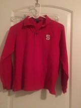 North Carolina State WolfPack NCAA Boys Port Authority Polo Shirt Top Sz... - $37.44