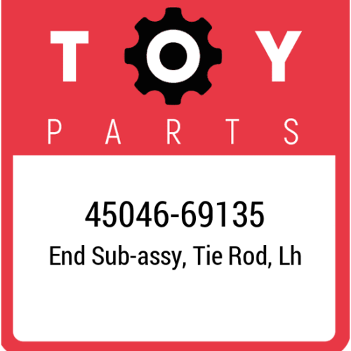 45046-69135 Toyota Tie Rod End, New Genuine OEM Part image 1