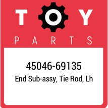45046-69135 Toyota Tie Rod End, New Genuine OEM Part - $33.35