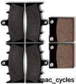 Kawasaki Disc Brake Pads ZR1200 2001-2008 Front & Rear (3 sets)