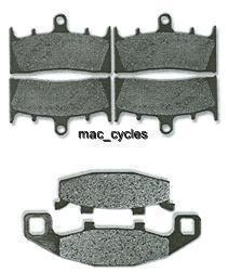 Kawasaki Disc Brake Pads ZR1100 Zephyr 1992-1996, 1999 & 2002-2006 Front & Rear