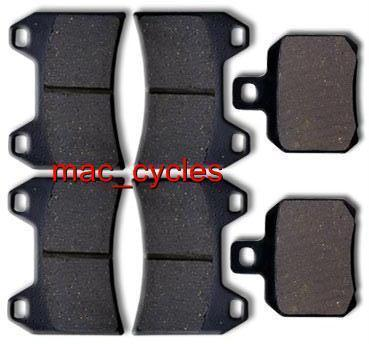 Cagiva Disc Brake Pads XtraRaptor1000 2002-2005 Front & Rear (3 sets)