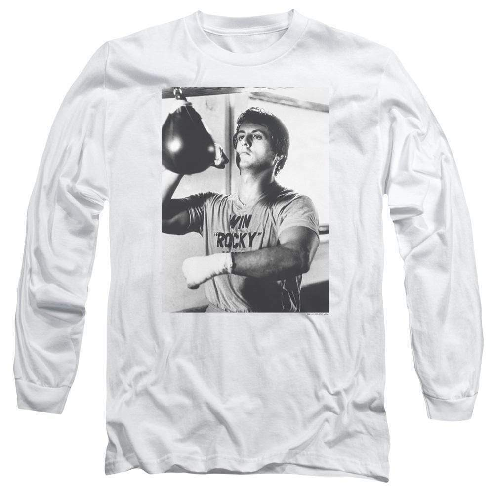 Rocky II Win Rocky Balboa Sylvester Stallone Long Sleeve Graphic Tshirt MGM225