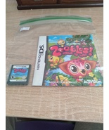 Nintendo DS Zoobles! Spring To Life! Cartridge & Instruction Manual - $7.20