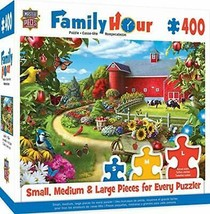 MasterPieces Family Hour Apple of My Eye Farm with Barn Scene Jigsaw Puzzle, - $29.65