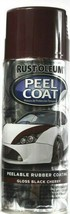 1 RUST-OLEUM Spray Peel Coat Peelable Rubber Coating Gloss Black Cherry ... - $15.99