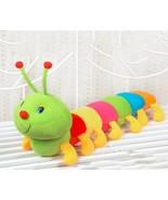 50cm Lovely Caterpillars Plush Toy Soft Plush Caterpillar Hold Pillow Doll - $11.41