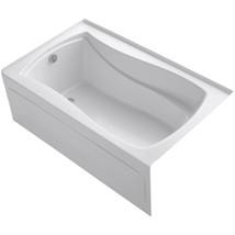 KOHLER Alcove Bathtub 5 ft. Built-In Flange Left-Hand Drain Rectangular White - $1,019.54