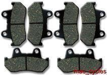Honda Disc Brake Pads VF1000F 1984-1987 Front (set of 2) & Rear (3 sets)