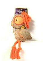 1 Count Multipet Squeak Me Chicken Huggable Cuddly Orange Dog Toy - £12.73 GBP
