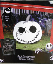 Inflatable Nightmare Before Christmas Halloween Decoration Jack Skelling... - $28.99