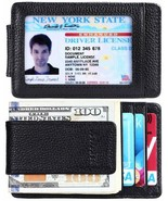 Money Clip, Front Pocket Wallet, Leather RFID Blocking Strong Magnet thi... - £9.77 GBP+