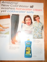 Vintage All Laundry Detergent Print Magazine Ad... - $4.99