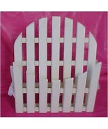 Wall Pocket , Wooden Country Garden Gate - $19.00