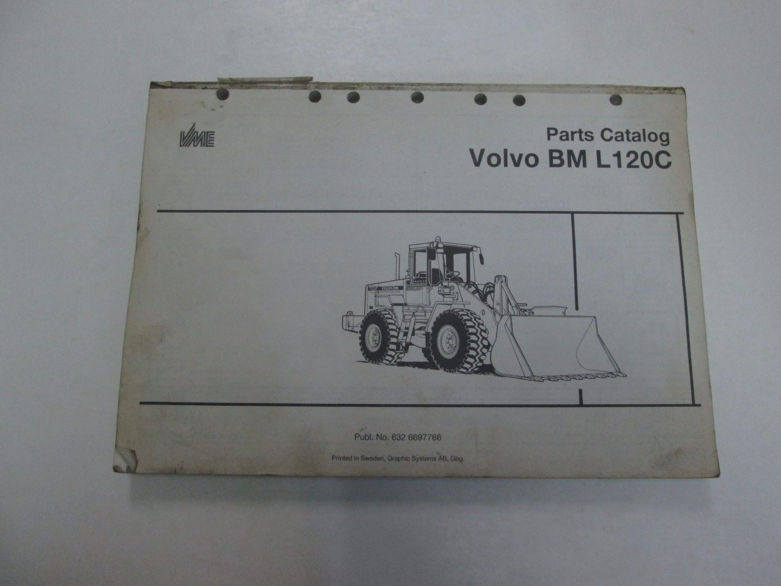 Volvo Hydraulic Pump 5 Listings 120c Wiring Diagram Bm L120c Parts Catalog Manual Missing Cover Stained Factory Oem Book Deal 5939