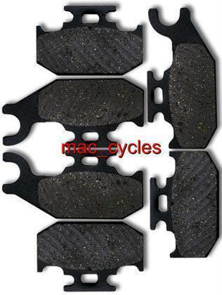 Can-Am Disc Brake Pads Outlander 400 2007-2010 Front & Rear (3 sets)