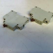 Lot of 2 Eaton Moeller FAZ G6A 220/380 A.C Circuit Breaker - $20.00