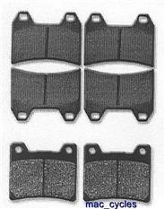 Yamaha Disc Brake Pads TRX850 1996-1998 Front & Rear (3 sets)