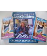 Book and VHS Tapes, Georgia Bonesteel Lap Quilting  - $25.00