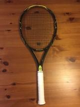 Wilson K Pro Open Tennis Racket Head Size 100 Grip 4 3/8 Synthetic Gut S... - $89.09