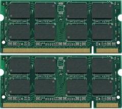 2GB 2X1GB DDR2 PC2-5300 667MHz Laptop SODIMM Memory RAM 200pin pc5300S Non-ECC