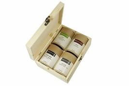 Whole Spices Eco-Friendly Gift Box (Black Pepper, Cardamom, Cloves, White Pepper - $71.66