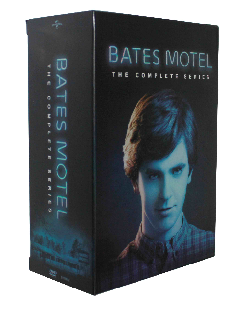 Bates Motel The Complete Series Seasons 1-5 DVD Box Set 15 Disc Free Shipping