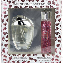 Av By Adrienne Vittadini Eau De Parfum Spray 3 Oz & Body Mist 5 Oz - $23.34