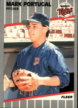 1989 Fleer #123 Mark Portugal NM-MT Twins - $0.90